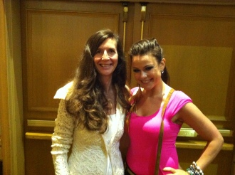 Marina Love and Nadine Artemis