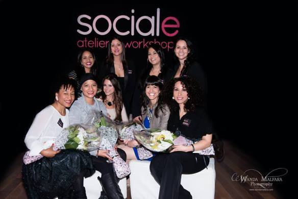Keynote speakers @ Sociale's Wonder Woman Event in Montreal December 8th 2013