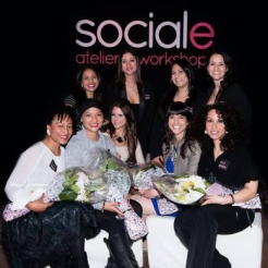 Keynote speakers @ Sociale's Wonder Woman Event in Montreal