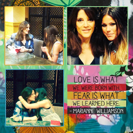 Marianne Williamson & Marina Love